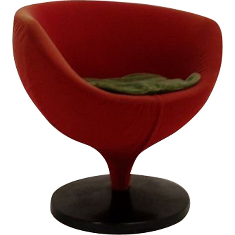 Vintage armchair Luna de Guariche for Meurop 1960