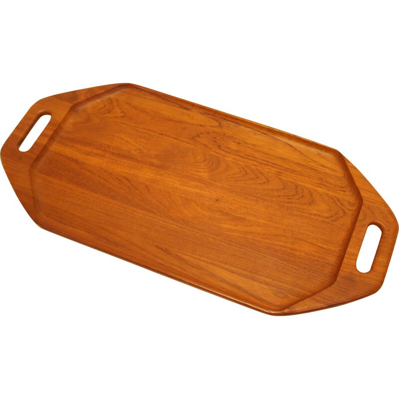 Vintage Teak Tray Digsmed model 911 Danish