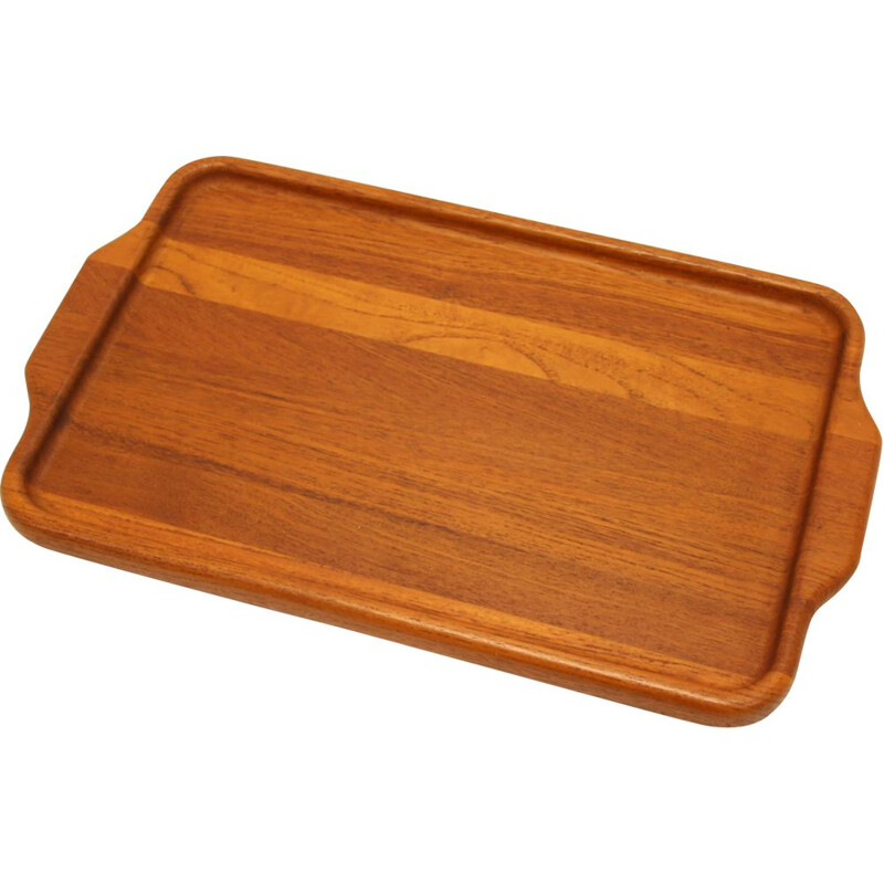 Vintage Teak Tray Digsmed model 808 Danish