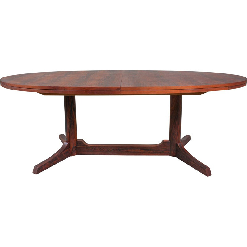 Vintage Oval Dining Table by Robert Heritage for Archie Shine, 1960s