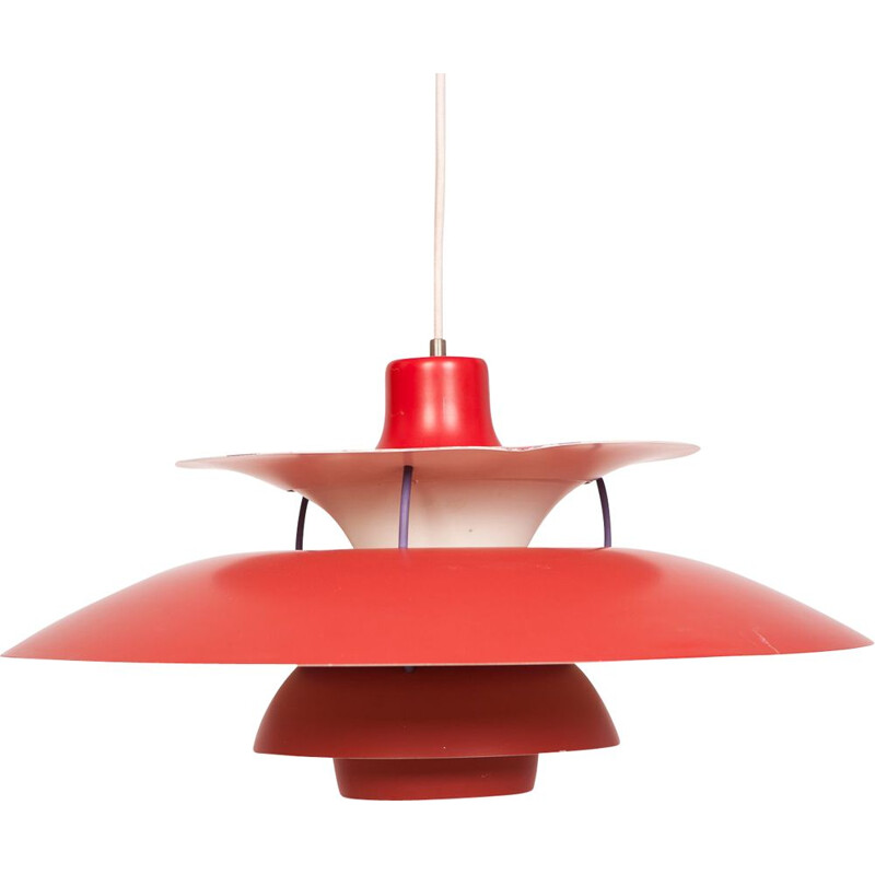 Mid Century PH5 Pendant Lamp by Poul Henningsen for Louis Poulsen 1958
