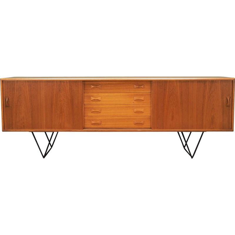 Vintage Sideboard teak by Clausen and Son Danish 1960s