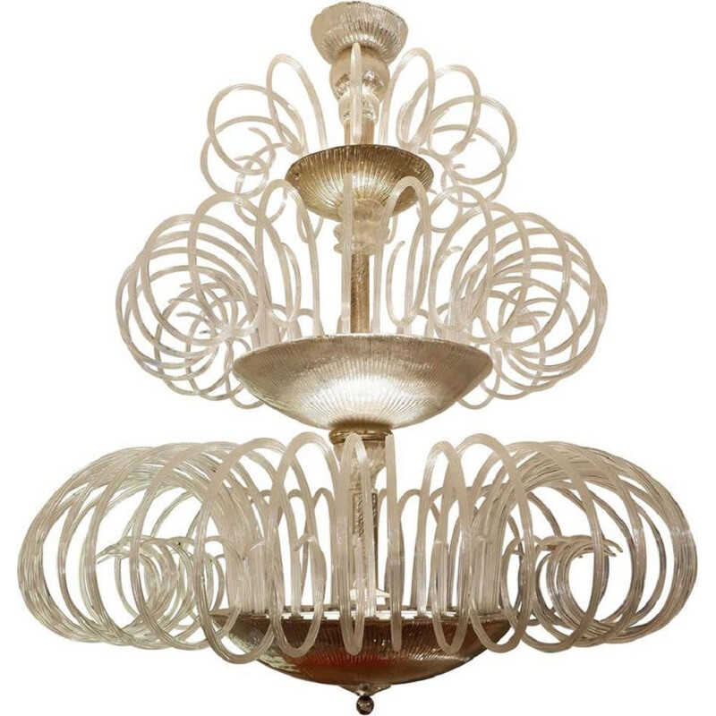 Vintage chandelier Murano Extra Large 1960