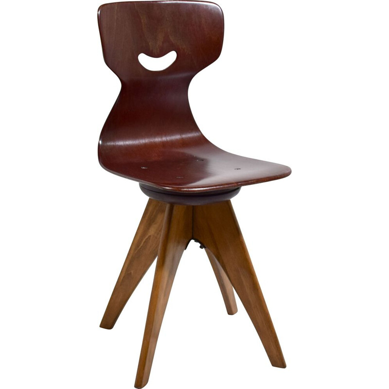 Vintage swivel chair Pagwood A. Stegner for Flotto, 1960