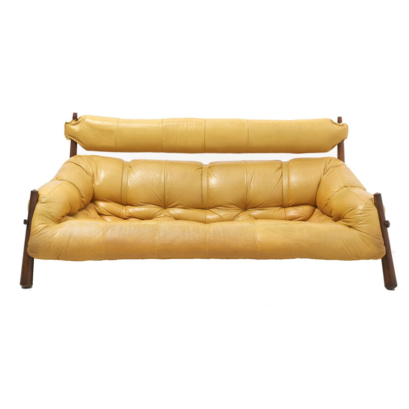 Vintage Brazilian Sofa by Percival Lafer - 1960s