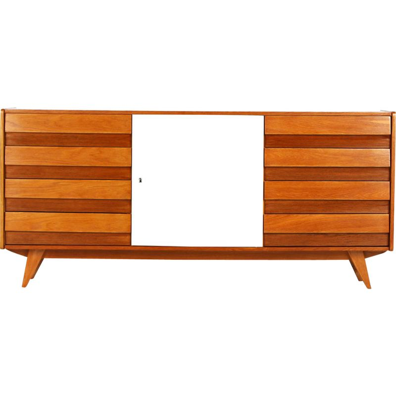 Vintage Model U-460 Sideboard by Jiri Jiroutek for Interior Praha, 1960s