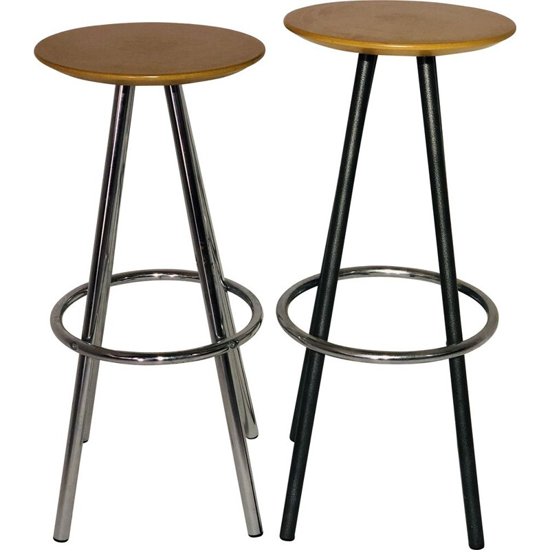 Pair of vintage Soca stools