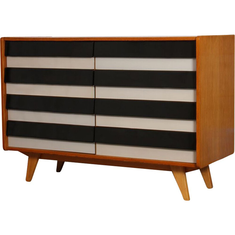 Vintage chest of drawers by Jiri Jiroutek Czech 1960