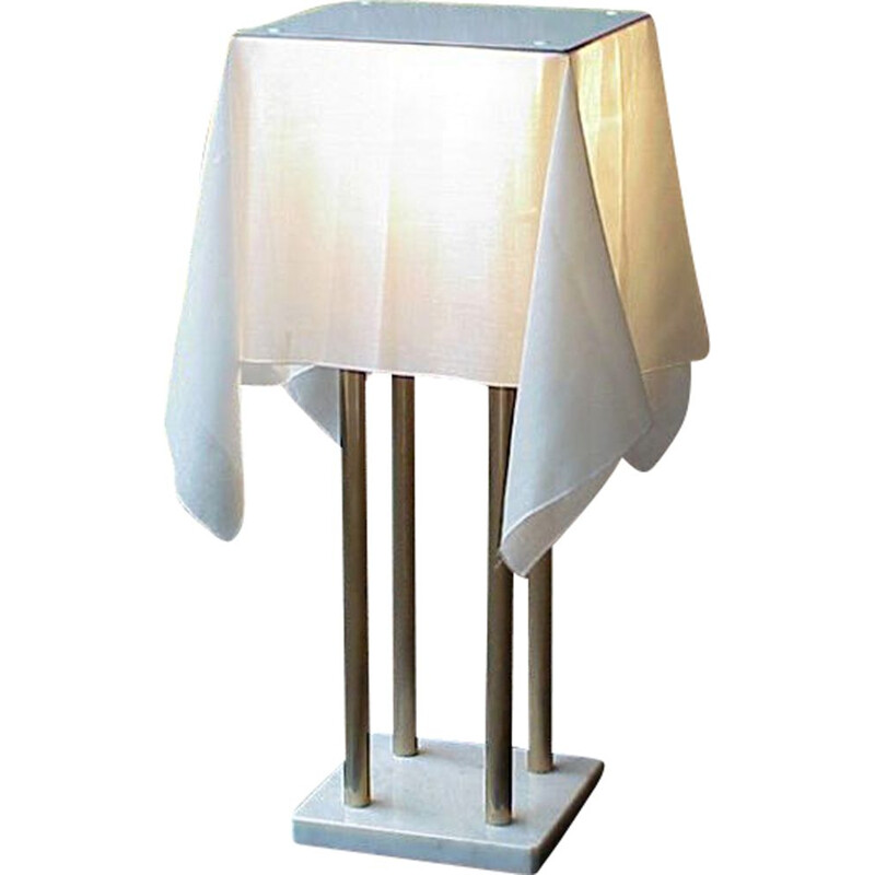Vintage table lamp Sirrah Nefer by Kazuide Takahama  space age Italy 1970