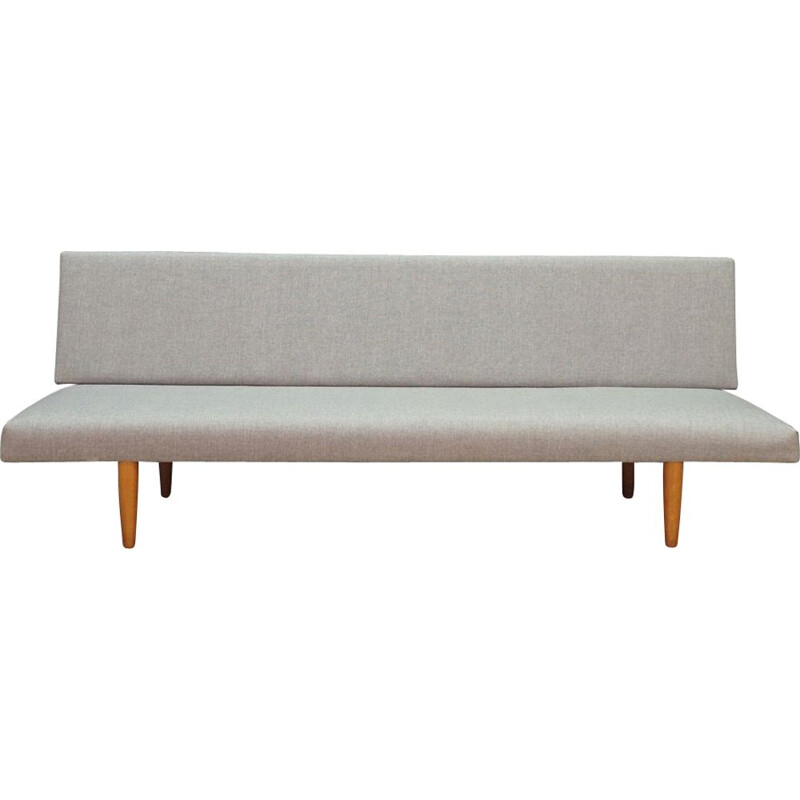 Vintage Sofa Danish in light grey 1970