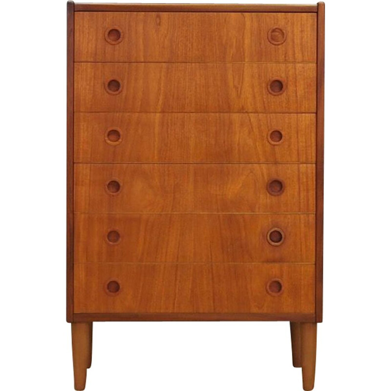 Vintage chest of drawers teak danish 1970