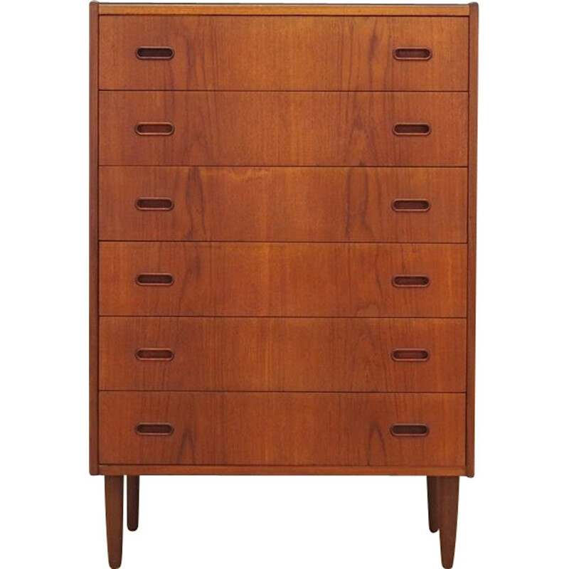 Vintage Chest of drawers Scandinavian teak lata 1970s