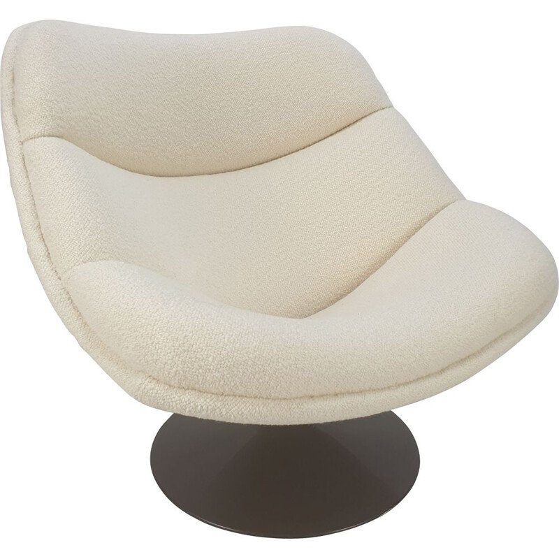 Vintage Lounge Chair F557 Oyster by Pierre Paulin for Artifort, 1960s
