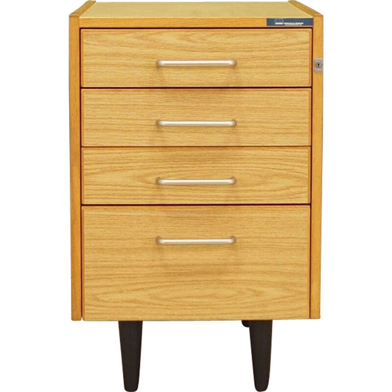 Vintage chest of drawers by Sorø Terminalborde Ole Bjerregaard Pedersen ApS Scandinavian 1970