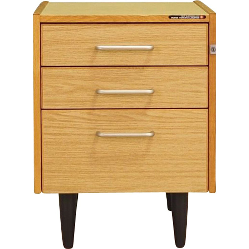 Vintage chest of drawers by Sorø Terminalborde Ole Bjerregaard Pedersen ApS Scandinavian 1970s