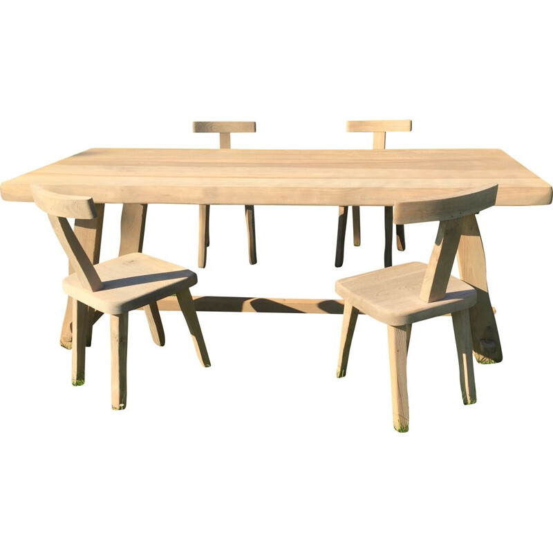 Vintage table and chairs Olavi Hanninen