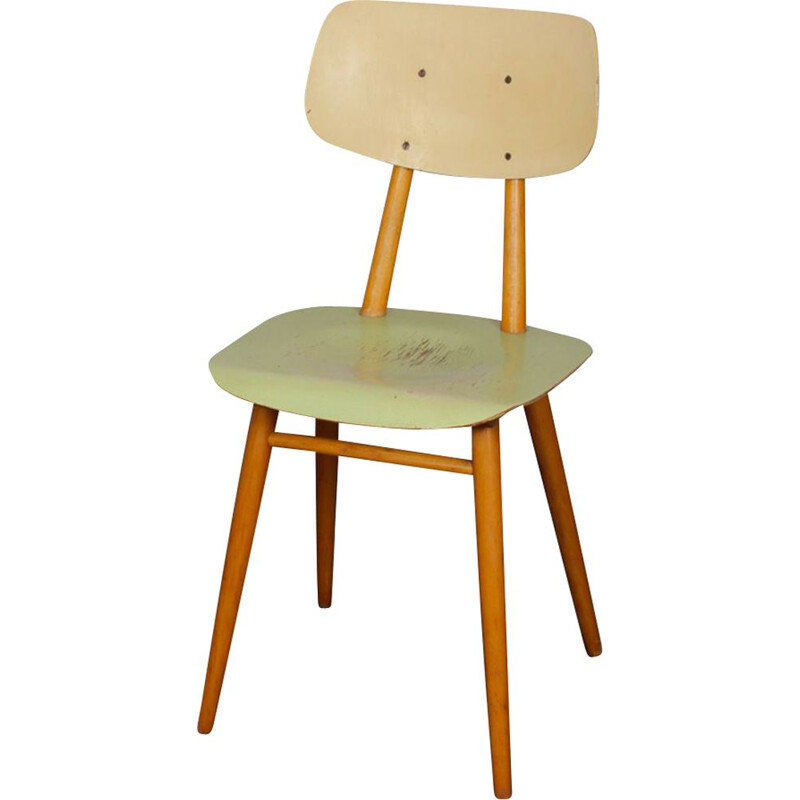 Vintage Ton chair, Czech 1960