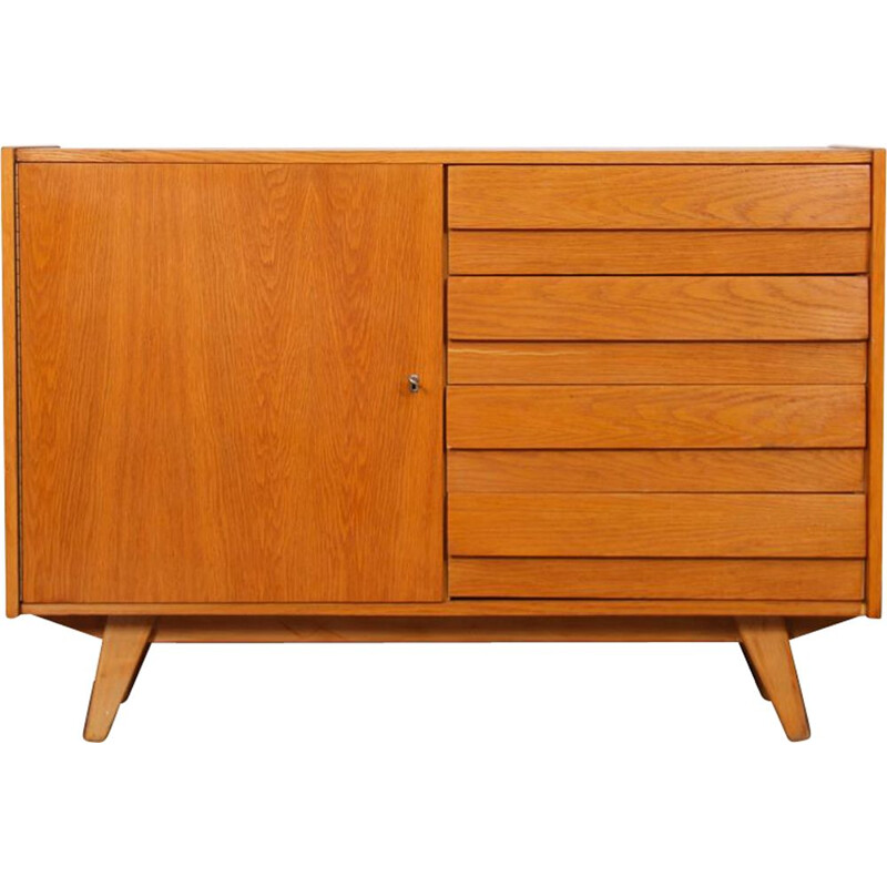 Vintage sideboard by Jiri Jiroutek, model U-458, 1960