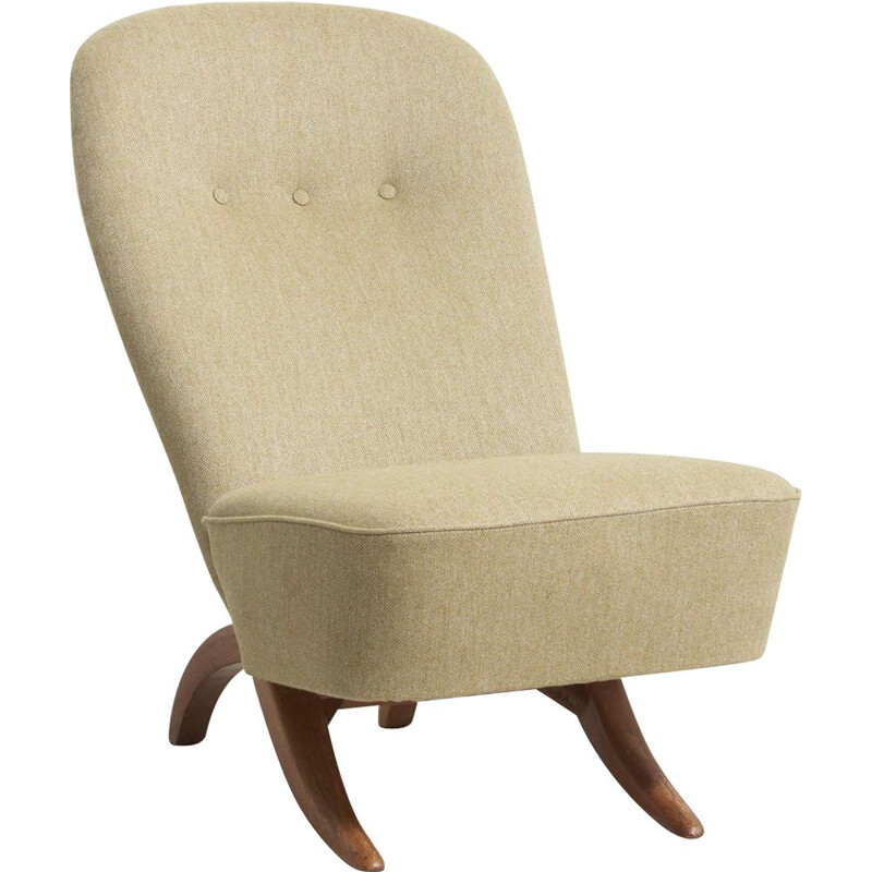 Vintage Congo Easy Chair by Theo Ruth, Nteherlands - 1950