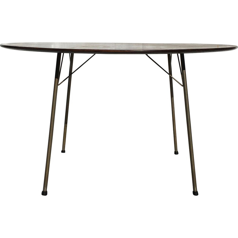 Vintage rosewood dining table by Arne Jacobsen