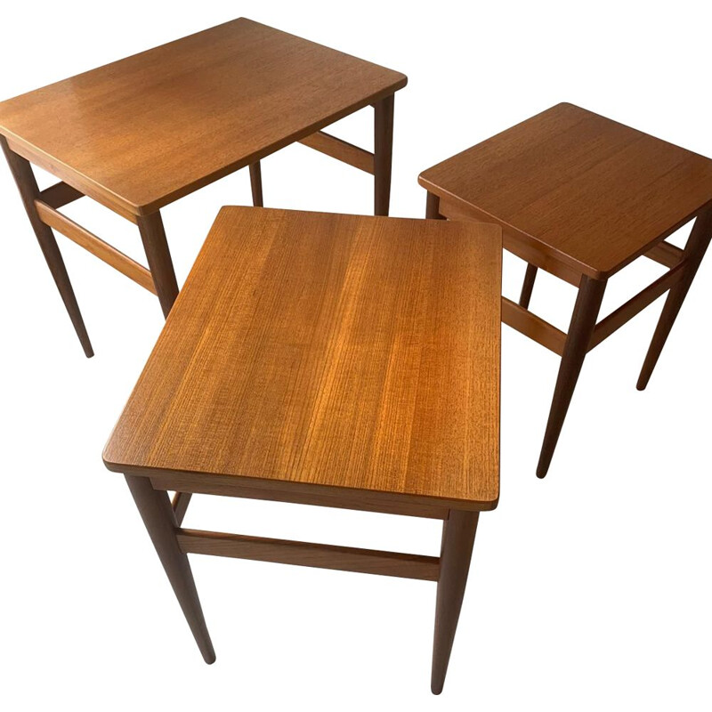 Vintage Teak Nesting tables Danish