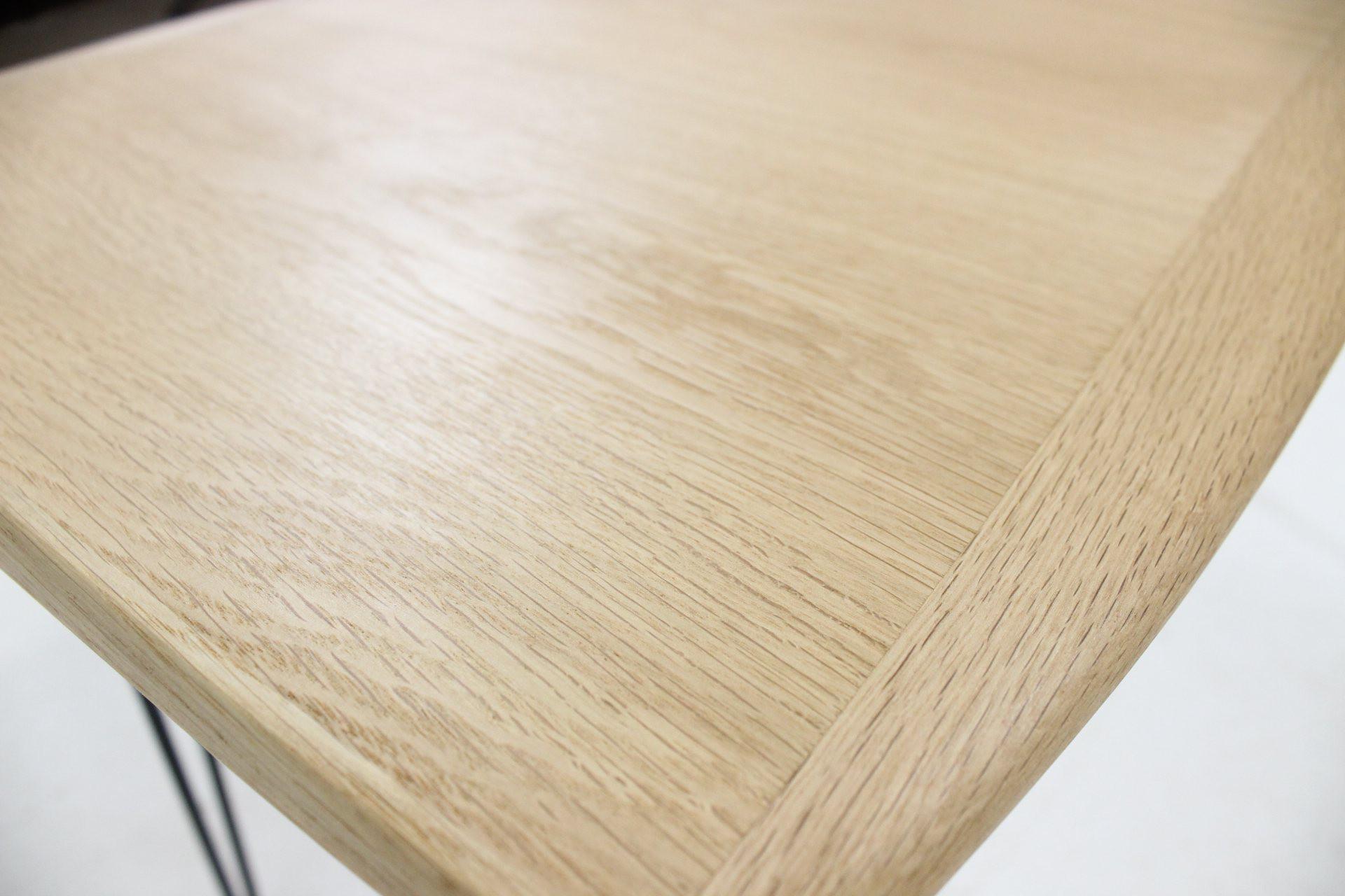 Organic shaped coffee table in oak 1960s Design Market