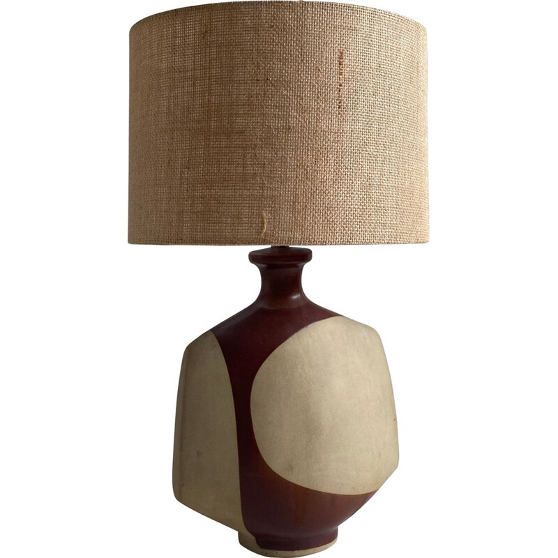 Mid Century 'Nanceddan' Pottery Table Lamp by Peter Ellery for Tremaen, 1960