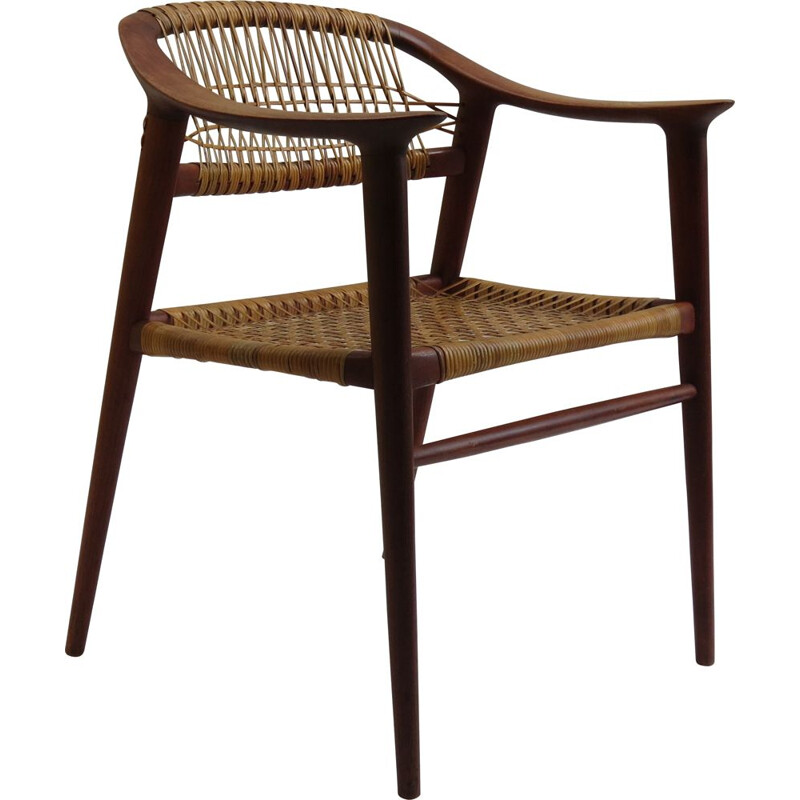Vintage Bambi Chair by Rolf Rastad and Adolf Relling Norway 1950s
