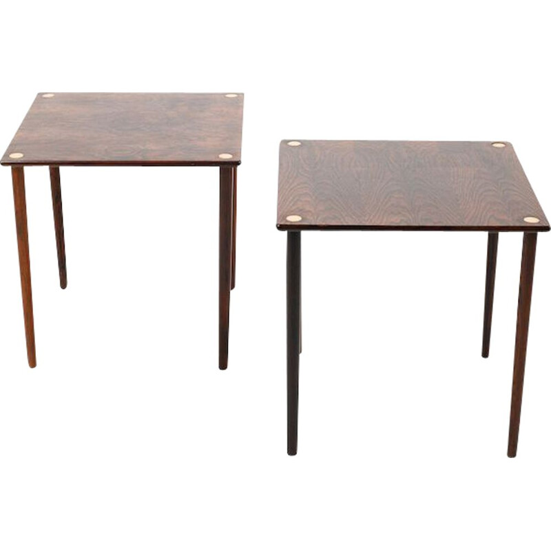 Pair of Mid Century Danish Side Tables