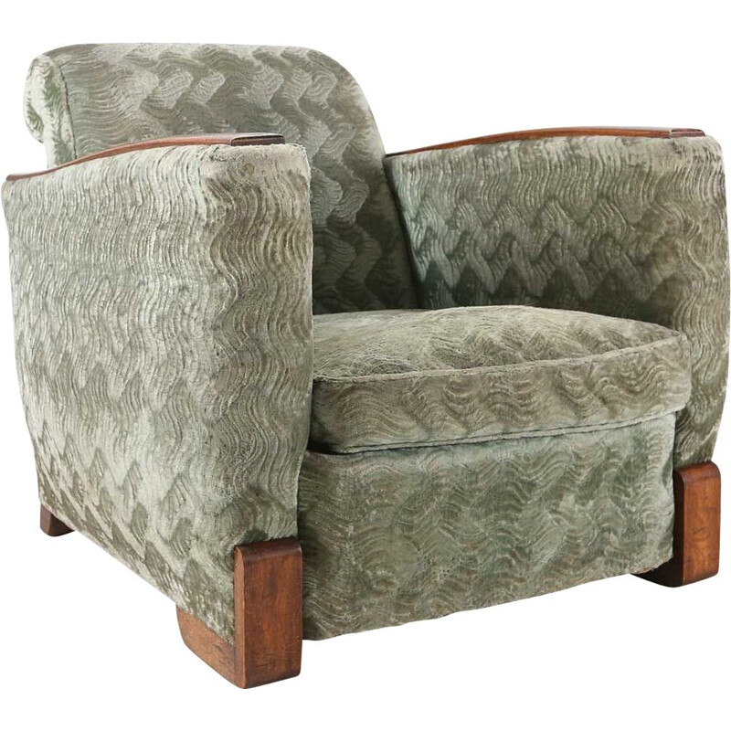 Vintage club chair Art Deco 1930