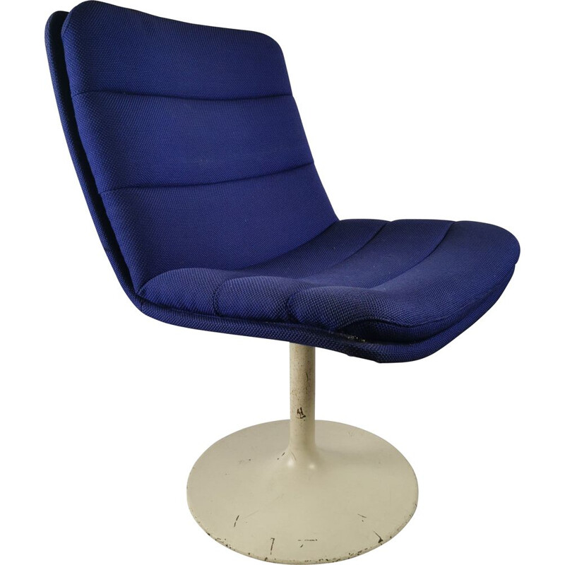 Vintage Atrifort tulip armchair by G. Harcourt 1970