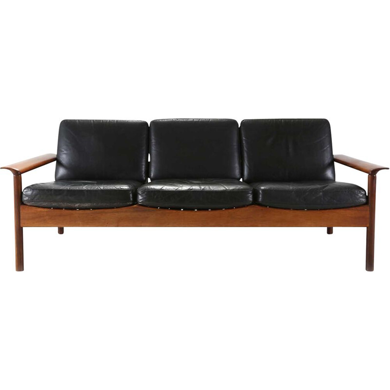 Vintage 3-seat sofa by the Belgian producer Gervan