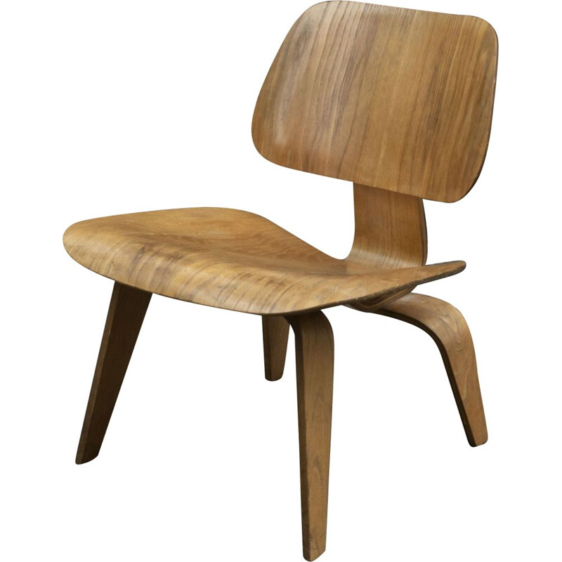 LCW Vintage Chair by Charles & Ray Eames - Herman Miller 1950