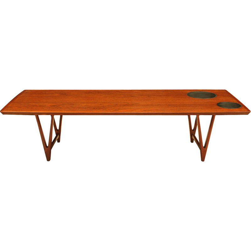 Vintage Early teak coffee table by Kurt Østervig