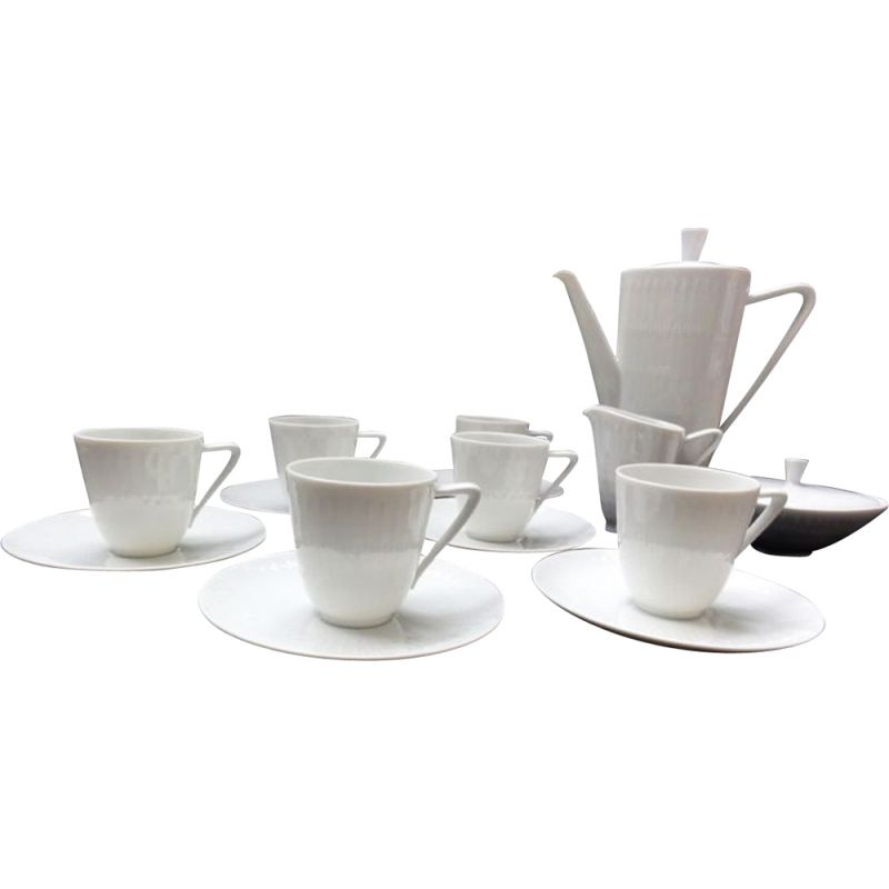 Mid Century coffee set by Hans Achtziger for Hutschenreuther Selb