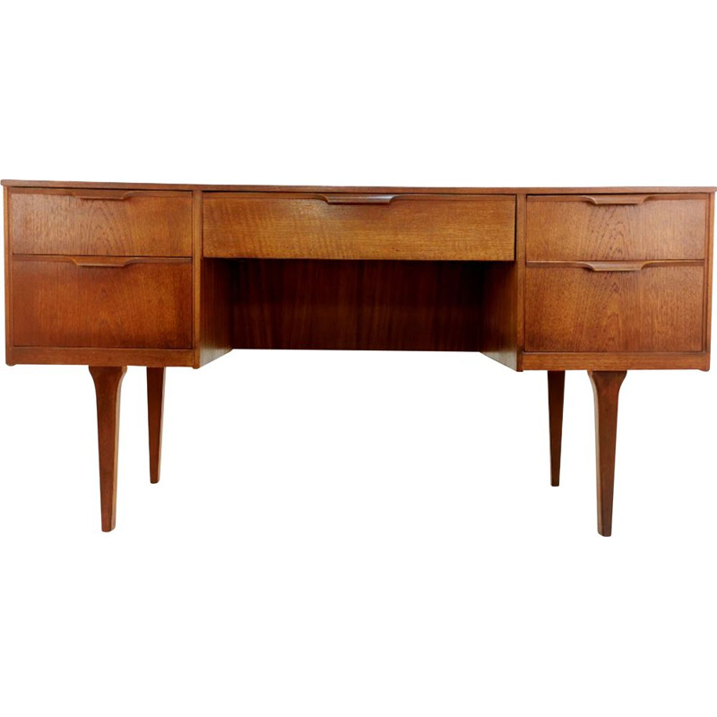 Teak Writing Desk Frank Guille For Austinsuite British Mid Century 1960