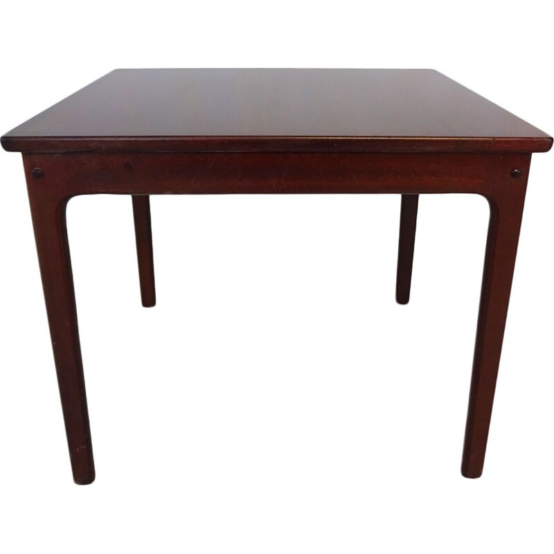 Mid Century mahogany coffee or side table by Ole Wanscher Danish