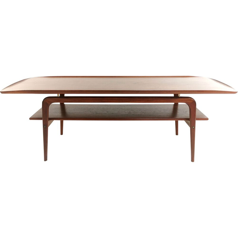 Mid Century Teak Coffee Table Arne Hovmand Olsen
