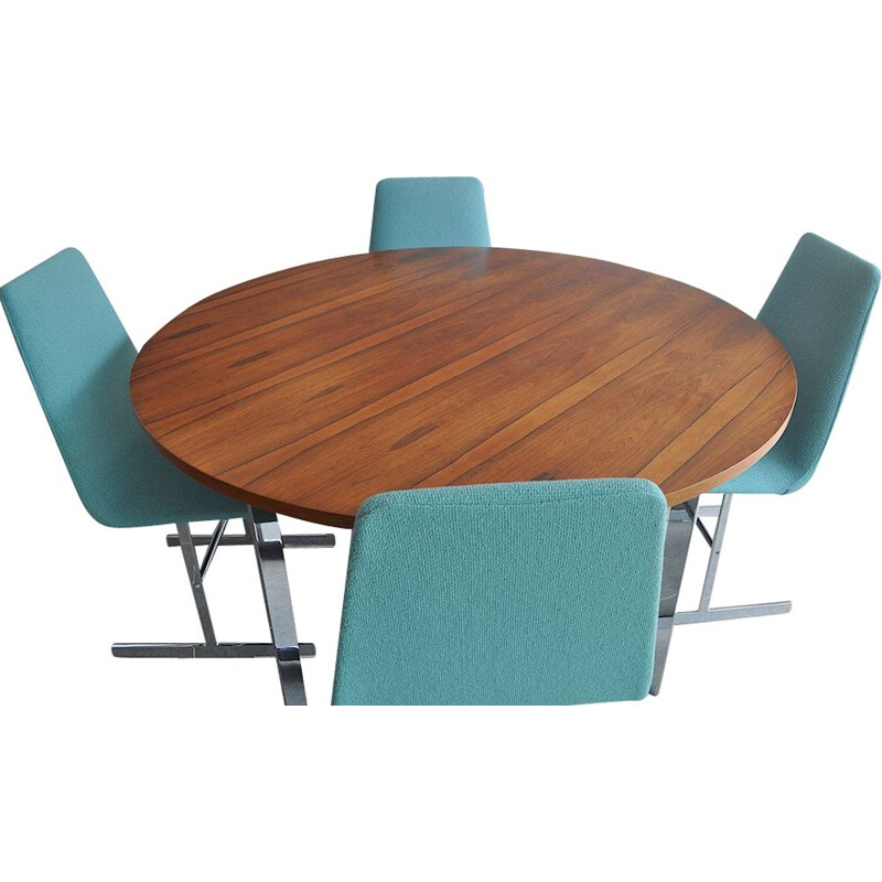 Vintage Dining Table and Chair Set by Richard Young 1960