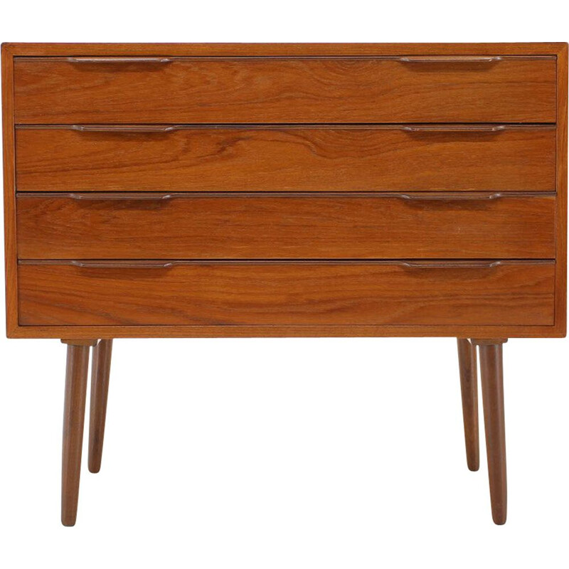 Vintage Teak Chest of Drawers, Denmark 1960s