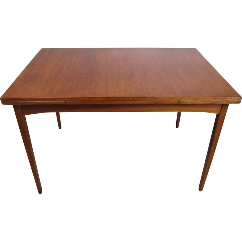 Vintage Extendable Table, Denmark, 1960s