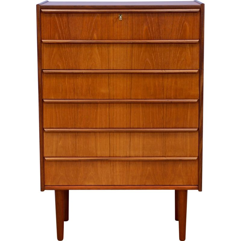 Vintage chest of drawers in teak, Danish 1960s