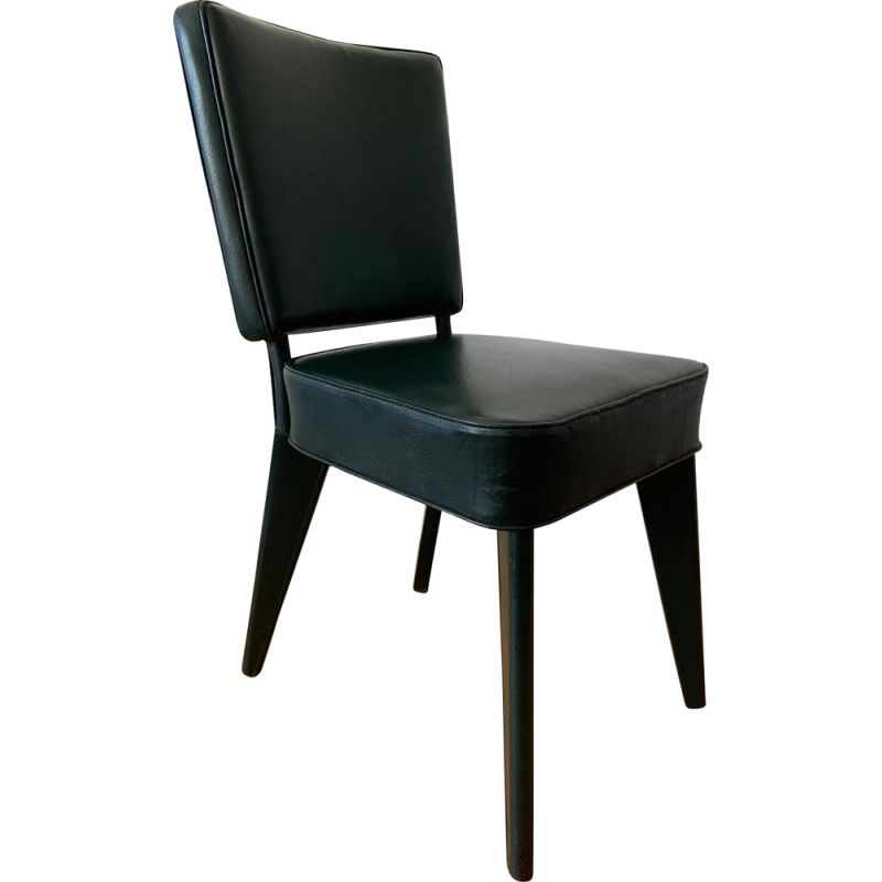 Vintage chair André Domin and Marcel Genevriere for house Dominique
