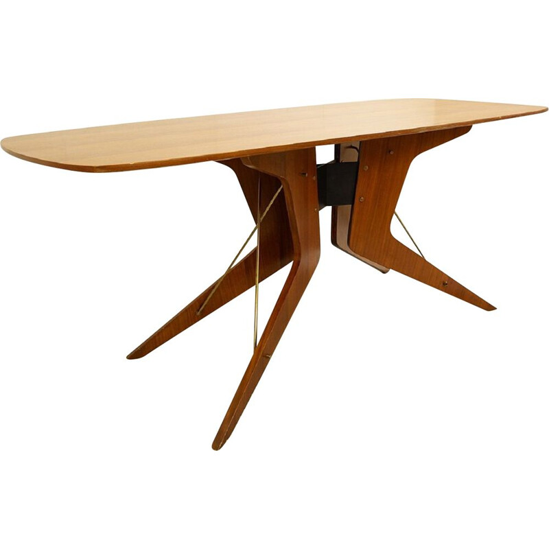 Vintage Italian sculptural dining table