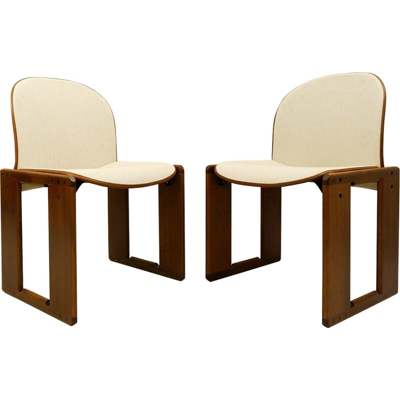 Pair Of Vintage Chairs Afra And Tobia Scarpa 1973
