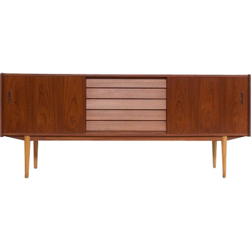 Vintage 'Trio' model sideboard by Nils Jonsson, Troeds Sweden 1950