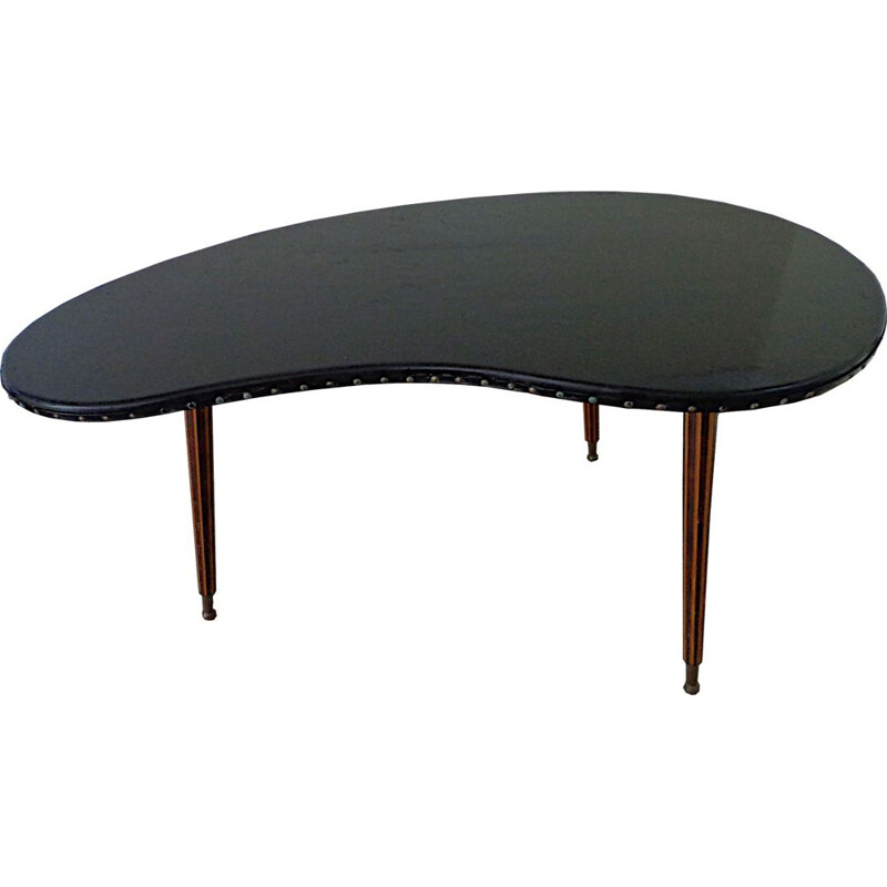 Vintage bean-shaped coffee table 1960