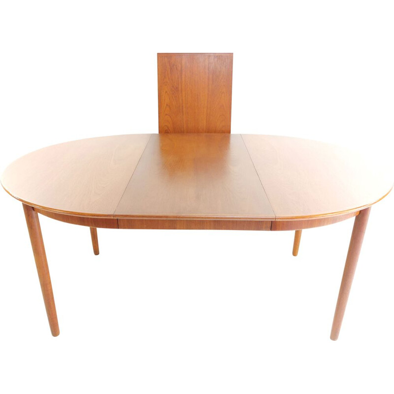 Extending Dining Table Teak Bernhard Pedersen Danish Mid Century 1960