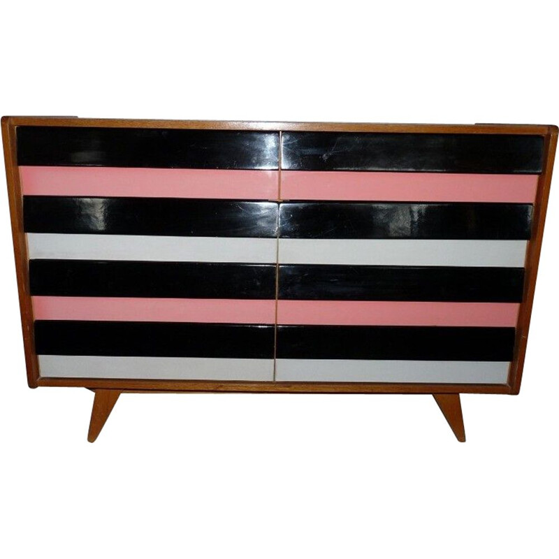 Vintage Chest of Drawers J. Jiroutek 1960s
