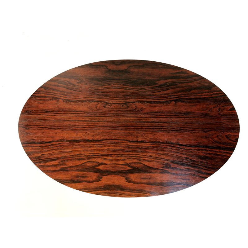Vintage Arkana Tulip Rosewood Coffee Occasional Table 1960s